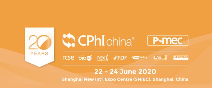 16-18 December 2020: CPhI CHINA 2020